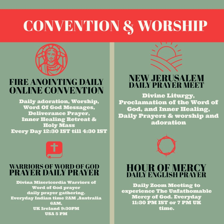 Conventions and worship